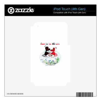 Love is in the air iPod touch 4G skin