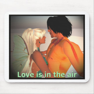 Love is in the Air Mouse Pad
