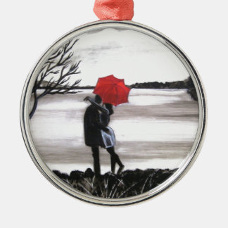 Love is in the air christmas ornaments