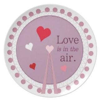 Love Is In The Air Plate
