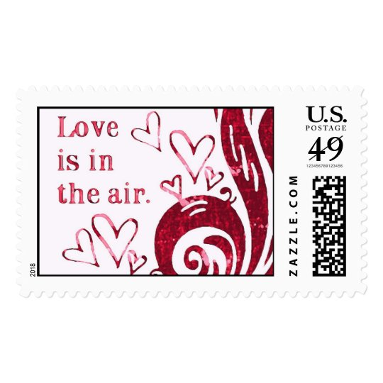 Love is in the air. postage