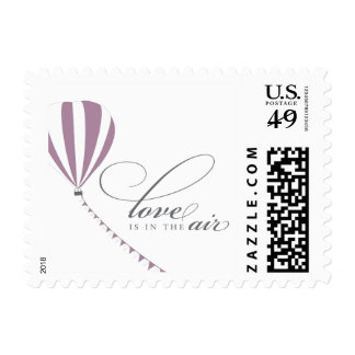Love is in the air postage