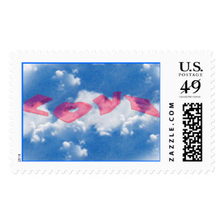Love Is In The Air Postage Stamps