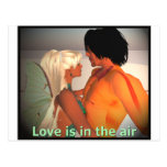 Love is in the Air Postcard