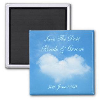 Love Is In The Air Save The Date Magnet