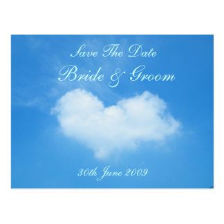 Love Is In The Air Save The Date Post Cards