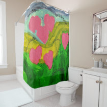 Love is in the air - Shower Curtain
