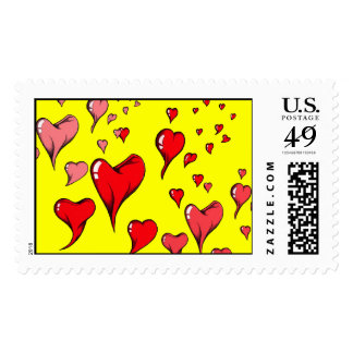 Love is in the Air Stamp
