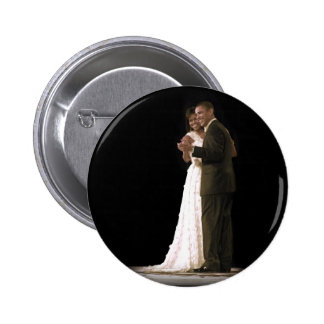 Love is in the Air, The First Couple Dancing 2 Inch Round Button