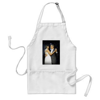 Love is in the Air, The First Couple Dancing II Adult Apron