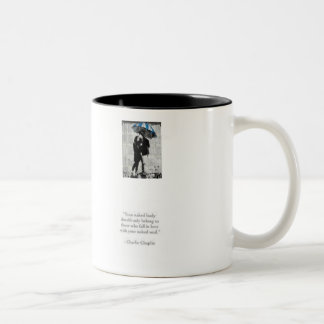 love is in the air Two-Tone coffee mug