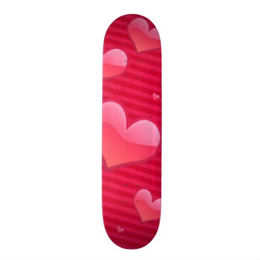 Love is in the Air Valentine Hearts Skate Decks