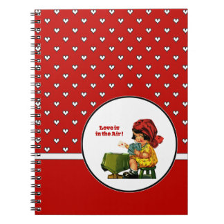Love is in the Air! Valentine´s Day Gift Notebook