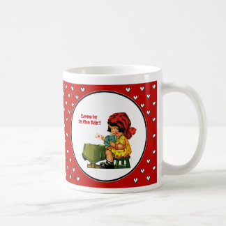 Love is in the Air. Valentine's Day Gift Mugs