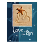 Love is in the Air. Valentine's Day Postcards