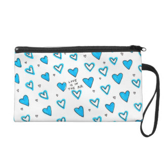 Love Is In The Air Wristlet