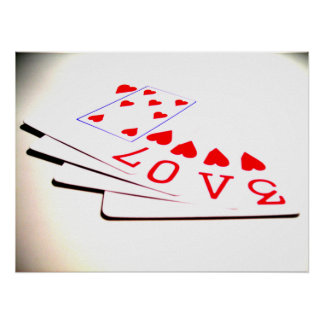 Love is in the Cards Poster