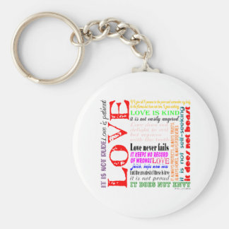 Love is... keychain