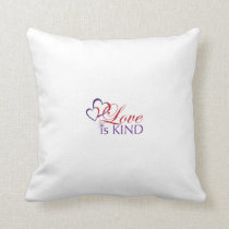 Love Is Kind -Cotton Pillow