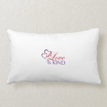 Love Is Kind-Long Cotton Pillow