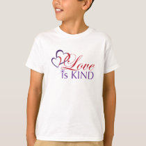 Love is Kind on White-Ch T-Shirt