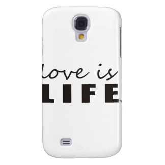Love is Life Galaxy S4 Cover