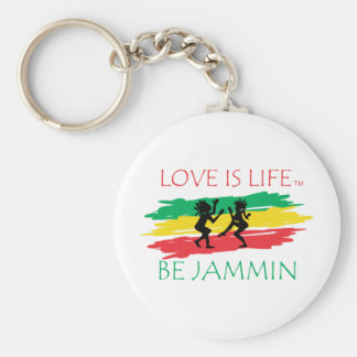 Love is Life Key Chain