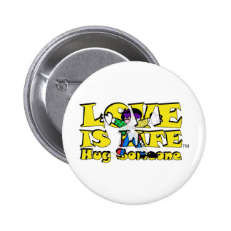 Love is Life Pinback Button
