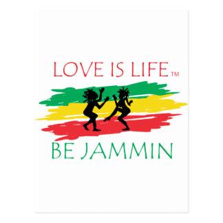 Love is Life Postcard
