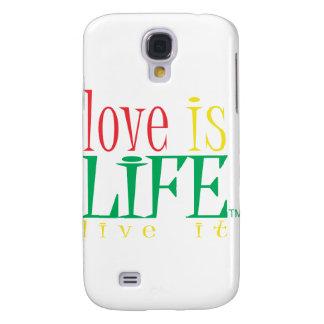 Love is LIfe Samsung Galaxy S4 Case