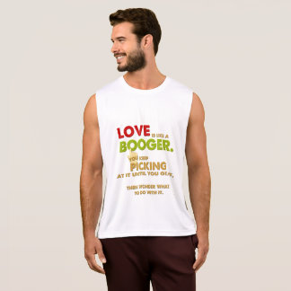 Love is like a Booger Funny Valentine Tank Top