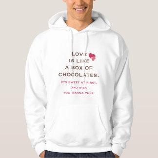 Love is Like a Box of Chocolates Hoodie