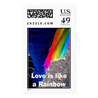 Love is like a Rainbow Stamps