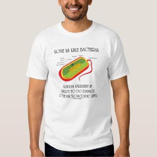 Love Is Like Bacteria (Anti-Valetine Prokaryote) T Shirt