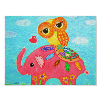 Love Is like The Elephant Poster