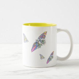 Love is likfe a butterfly mug