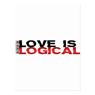 Love Is Logical Postcards