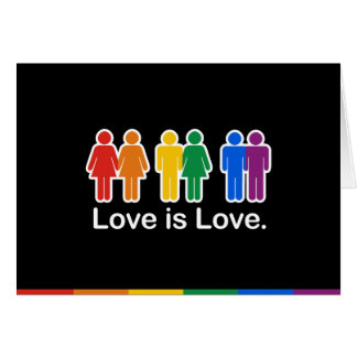 LOVE IS LOVE BASIC CARD