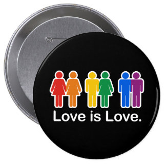 LOVE IS LOVE BASIC PIN