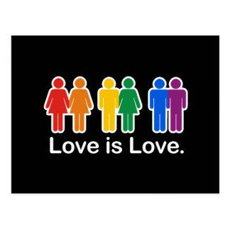 LOVE IS LOVE BASIC POSTCARDS