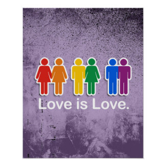 LOVE IS LOVE BASIC POSTER