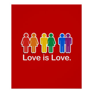 LOVE IS LOVE BASIC POSTERS