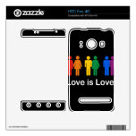 LOVE IS LOVE BLACK.png Skins For HTC Evo 4G