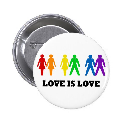 Love is Love Buttons