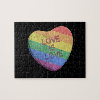 LOVE IS LOVE CANDY - png Puzzle