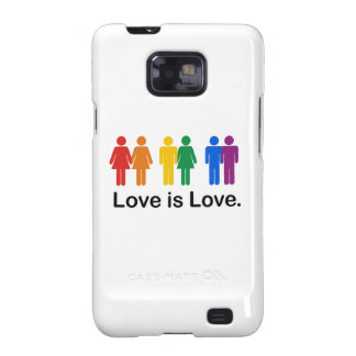 Love is Love. Galaxy SII Covers
