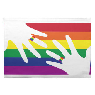 LOVE is LOVE Cloth Place Mat