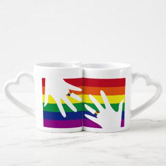 LOVE is LOVE Coffee Mug Set