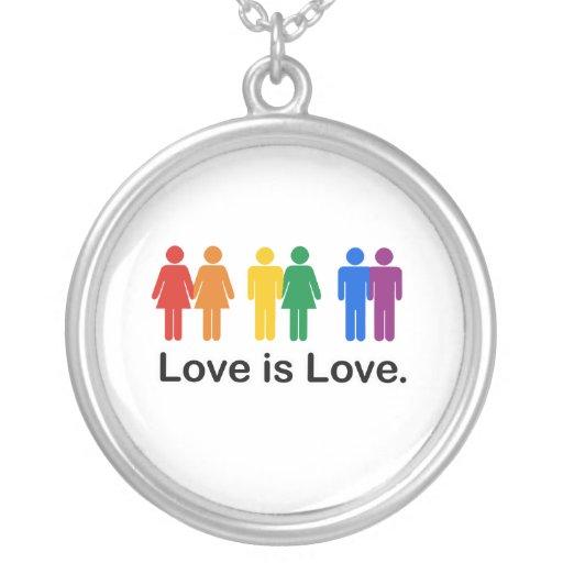Love is Love. Custom Necklace
