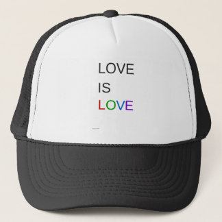 Love Is Love Customizable Apparel Product Trucker Hat